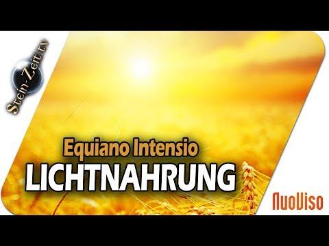 Lichtnahrung - Der Weg der inneren Ernährung - Equiano Intensio bei SteinZeit