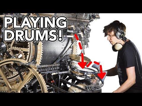 Marble Machine X Plays Drums! #86